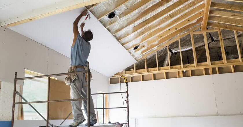 drywall hanging and repair in aurora and surrounding suburbs